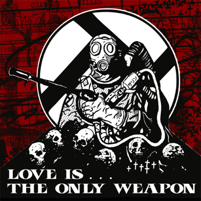 INTEGRITY / CREEPOUT Love is the Only Weapon cover art