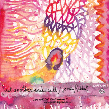 James Rabbit/Just Another Snake Cult Split cover art