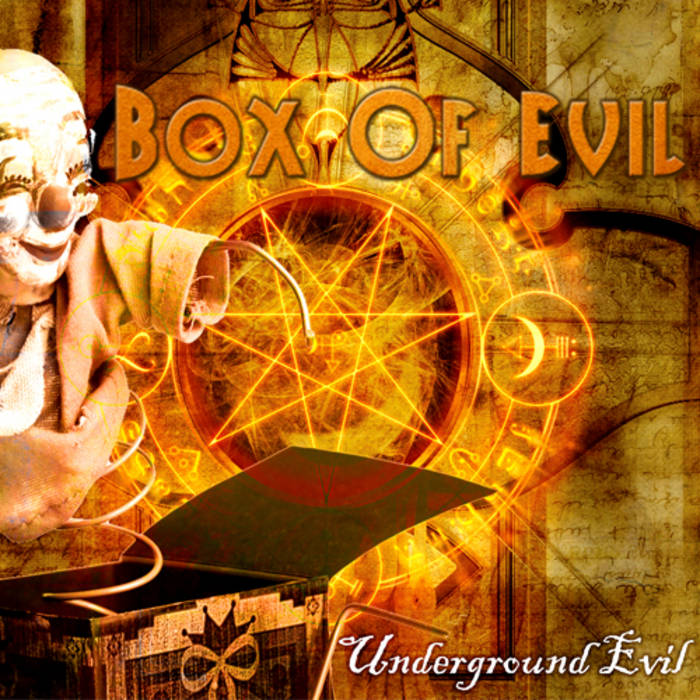 BOX OF EVIL - Underground Evil ( Green Wizards Records) cover art