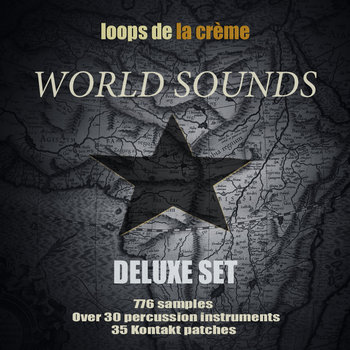 world sounds DELUXE SET cover art