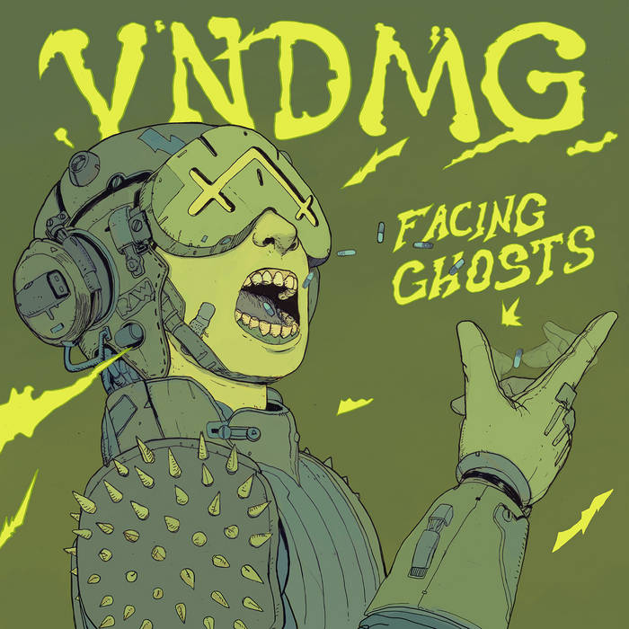 Facing Ghosts EP cover art