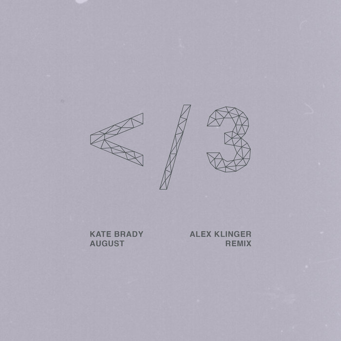 Kate Brady - August (alex klinger remix) cover art