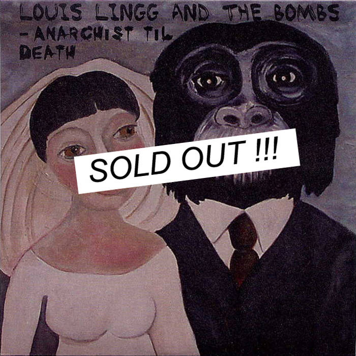 CU 014 / LOUIS LINGG AND THE BOMBS cover art