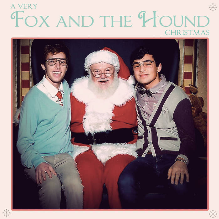 A Very Fox and the Hound Christmas cover art