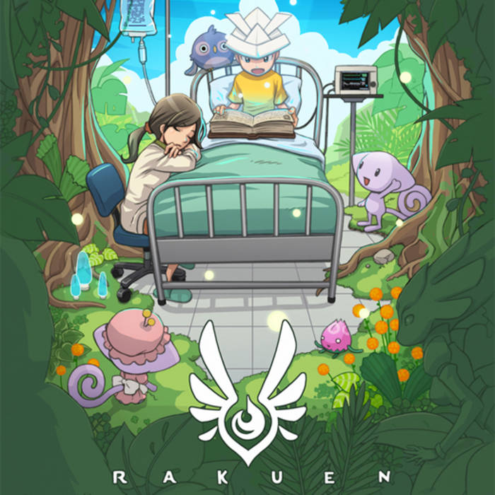 Rakuen Official Soundtrack cover art