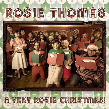 A VERY ROSIE CHRISTMAS! cover art