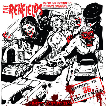 The Renfields: Stalk and Slash Splatterama Pt. 2: Exploitation Extravaganza cover art