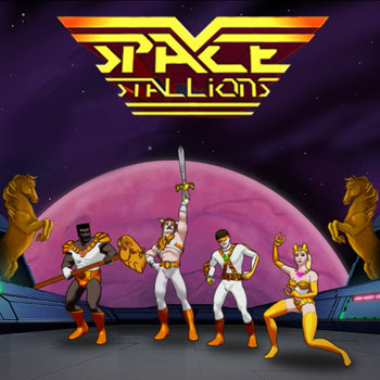 space stallions cover art