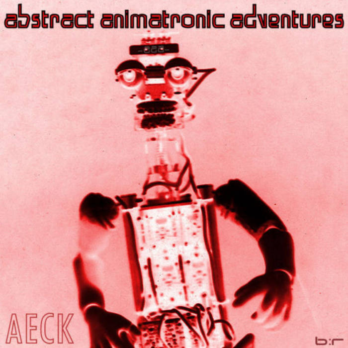Abstract animatronic adventures cover art