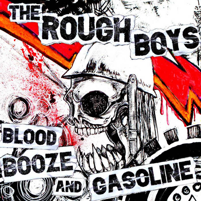 BLOOD, BOOZE AND GASOLINE EP cover art