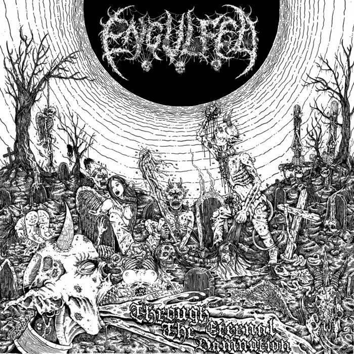 Through The Eternal Damnation cover art
