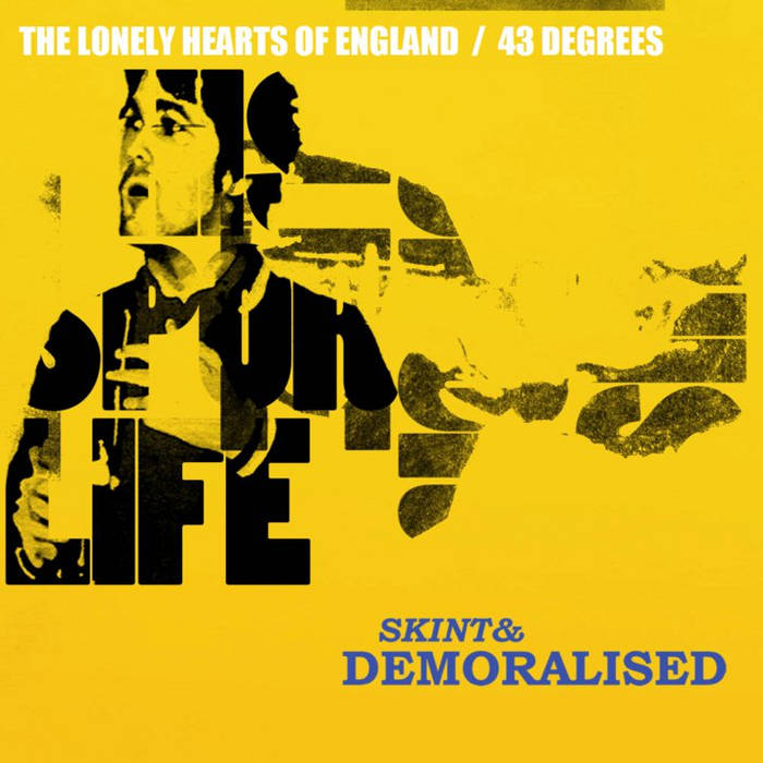The Lonely Hearts of England/43 Degrees [Double A-Side single] cover art