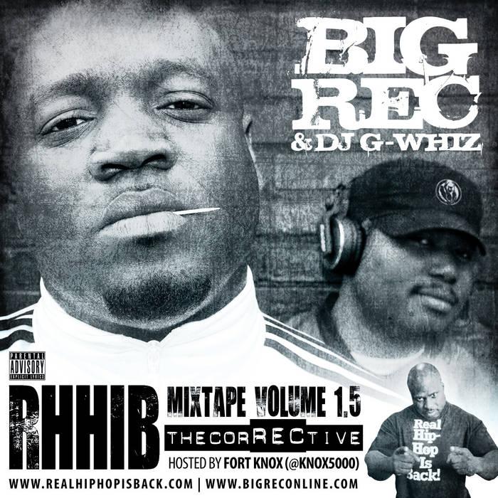 RHHIB Mixtape, Volume 1.5 (The CorRECtive) cover art