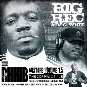 RHHIB Mixtape, Volume 1.5 (The CorRECtive) cover art