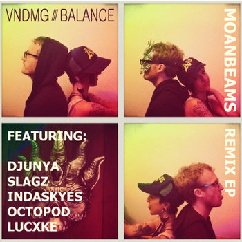 Moanbeams Remix EP cover art