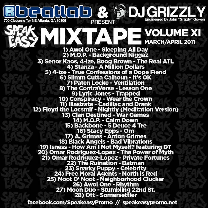 Speakeasy Mixtape Vol. 11 cover art
