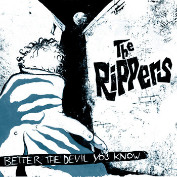 "THE RIPPERS ""Better The Devil You Know"" LP cover art"