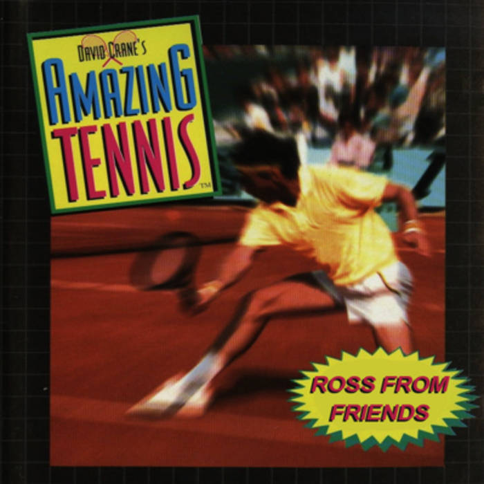 David Crane's Amazing Tennis cover art
