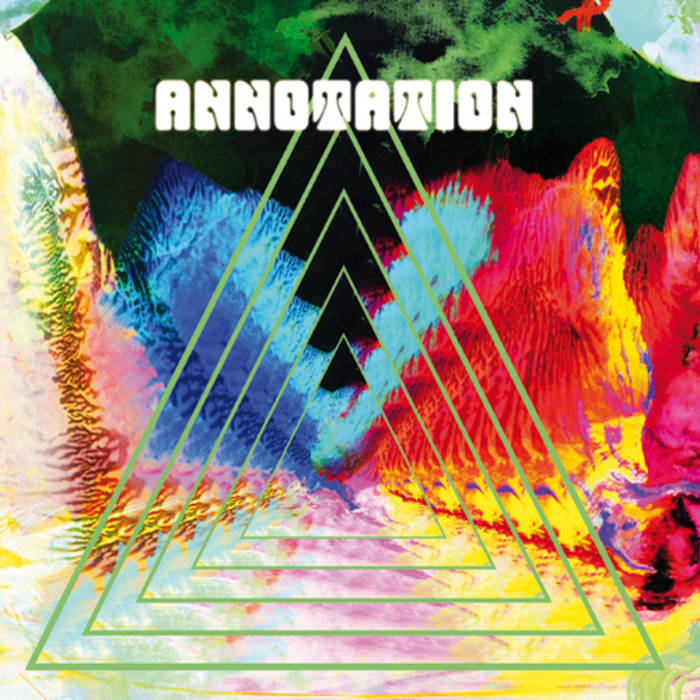 "Annotation - s/t 7"" cover art"