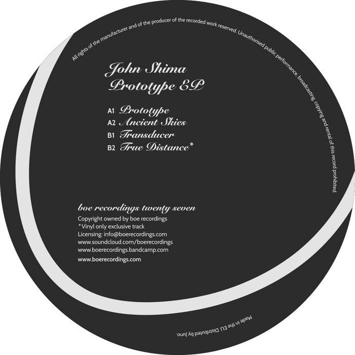 Prototype EP cover art