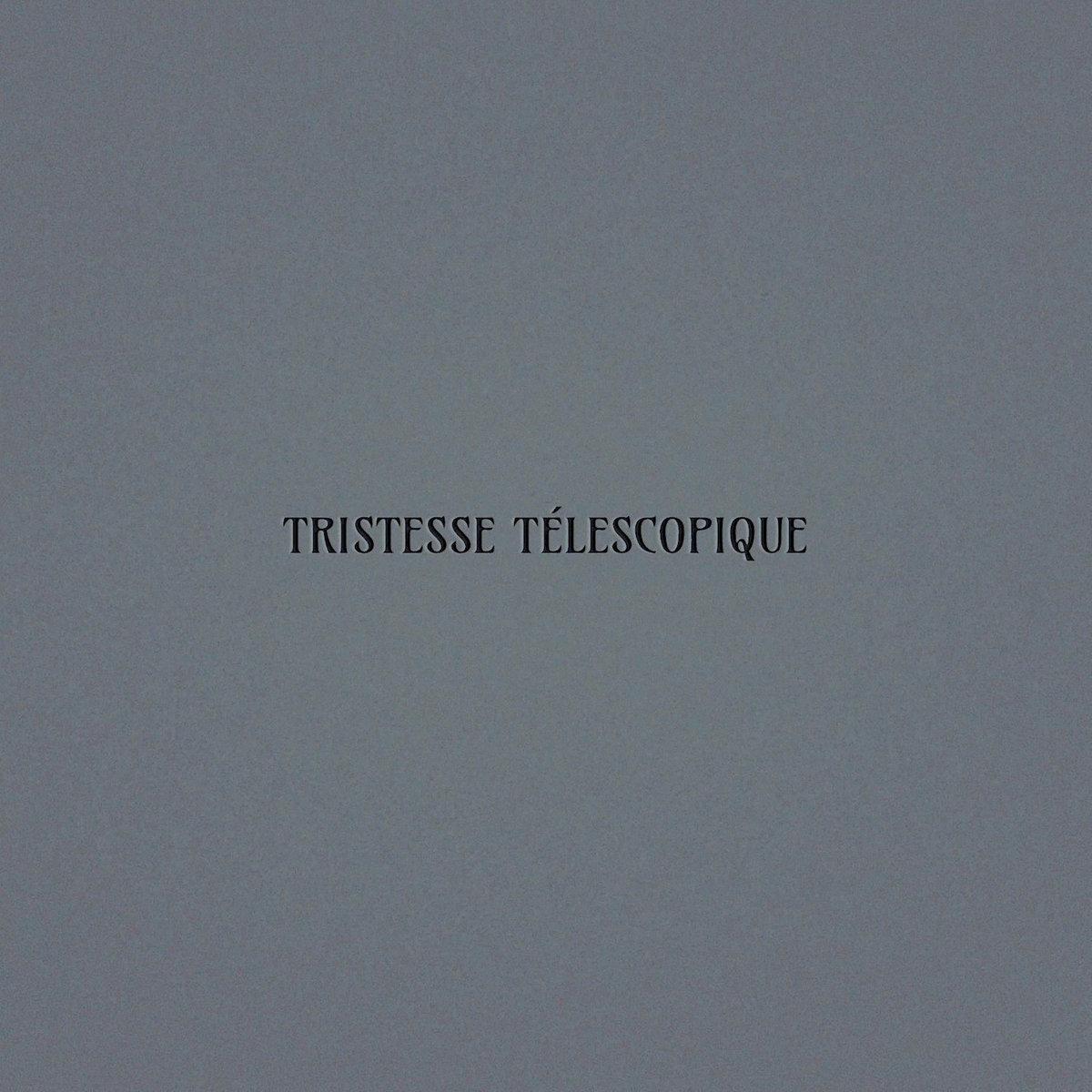 Oskar Schuster - Tristesse Télescopique