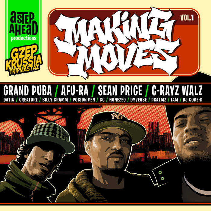 Making Moves Vol.1 cover art