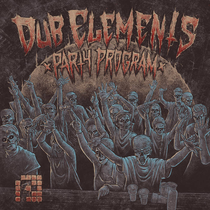 PRSPCTLP003 - Dub Elements 'Party Program' cover art