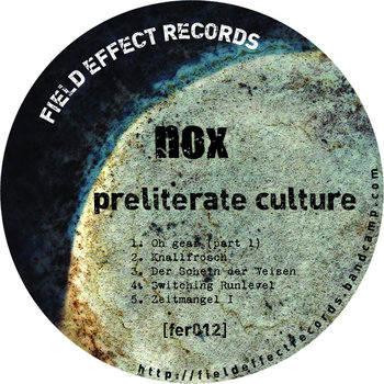 preliterate culture cover art