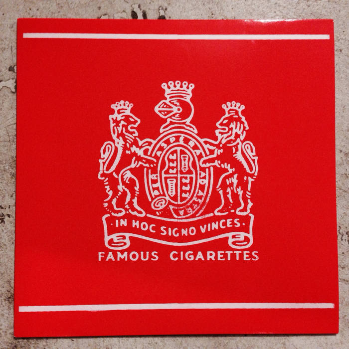 Famous Cigarettes ((Split LP or Tape w/ Dust From 1000 Years)) cover art