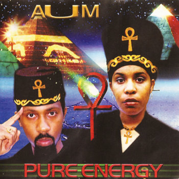 "PURE ENERGY ""AUM"" (album) cover art"