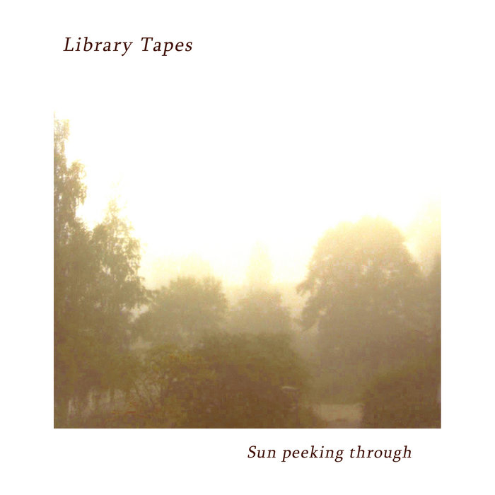 Sun peeking through cover art