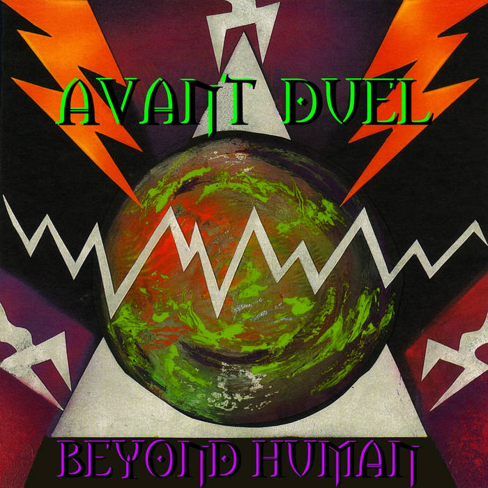 BEYOND HUMAN cover art