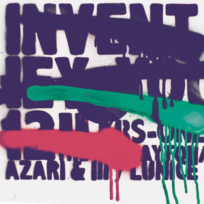 """INVENT - Hey You 12"""" cover art"""