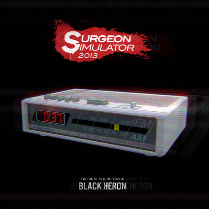 Surgeon Simulator 2013 OST cover art