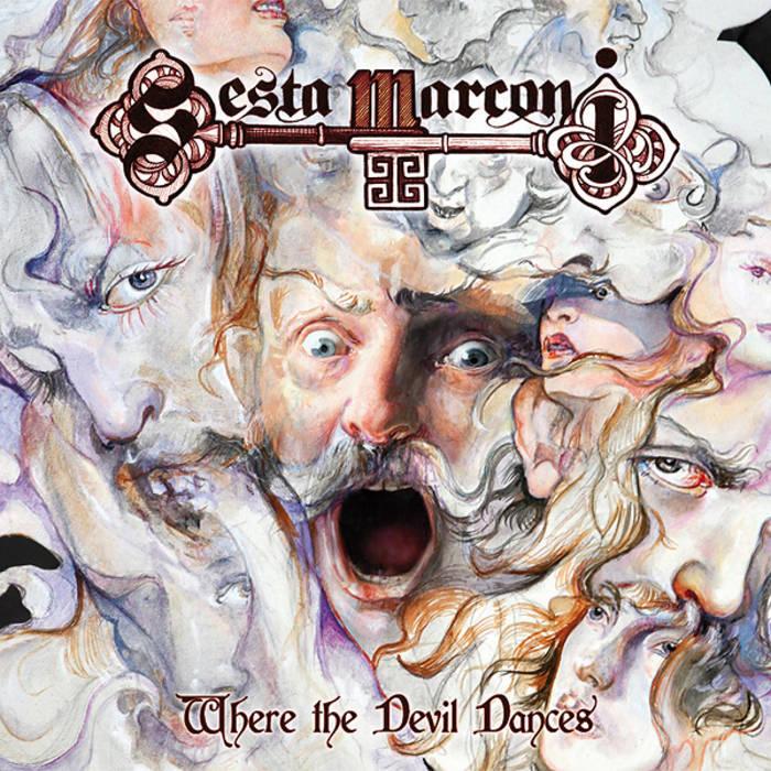 """SESTA MARCONI """"Where The Devil Dances"""" cover art"""