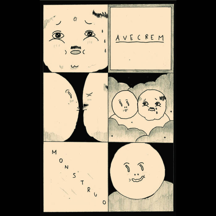 Avecrem / Monstruo Split cover art