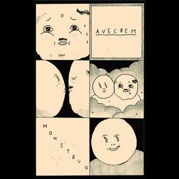 Avecrem / Monstruo Split cover art