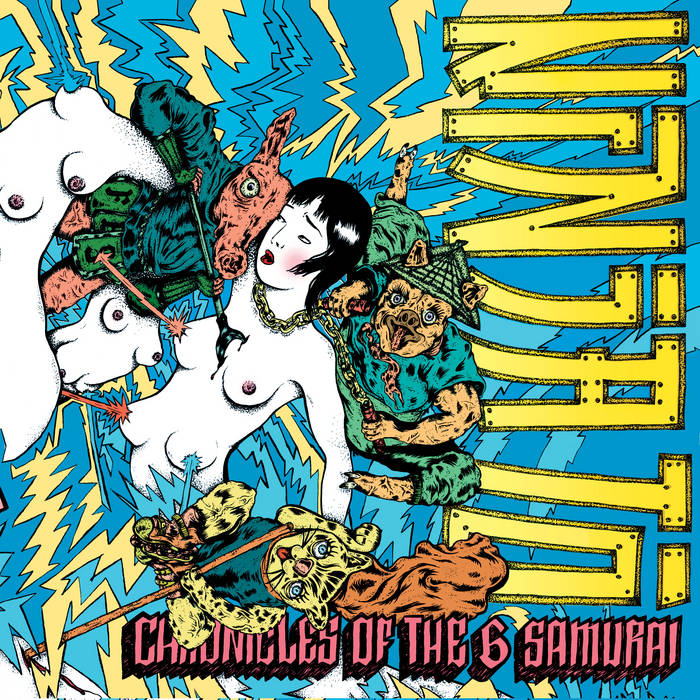 Chronicles Of The 6 Samurai cover art