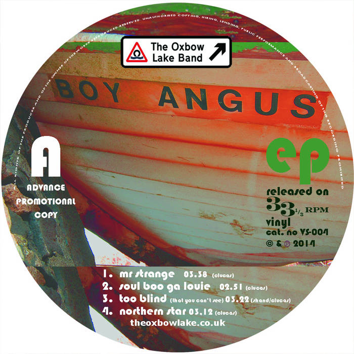boy angus ep cover art