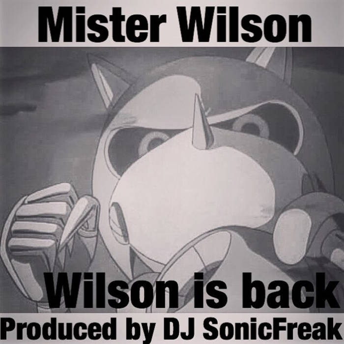 Wilson is back cover art