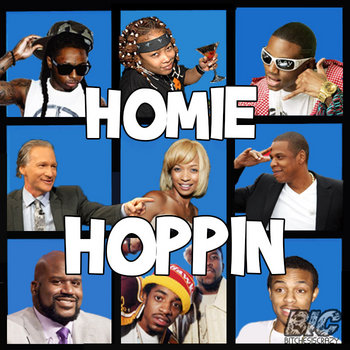 Homie Hoppin (Produced by Coopatroop & Blacktophero) cover art