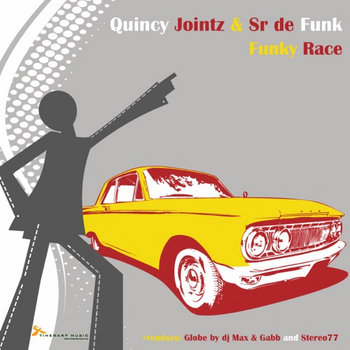 Quincy Jointz & Sr. de Funk - Funky Race cover art