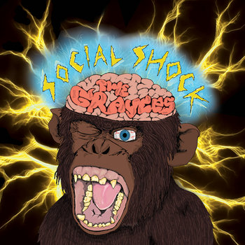 The Grayces - 'Social Shock' cover art