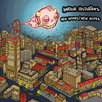New Homes / New Hopes EP cover art