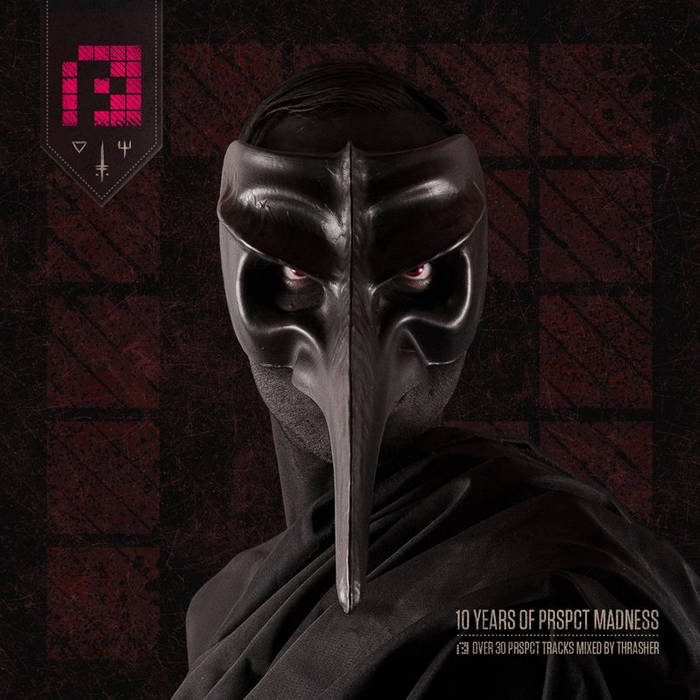 10 Years of PRSPCT MADNESS Mix CD cover art