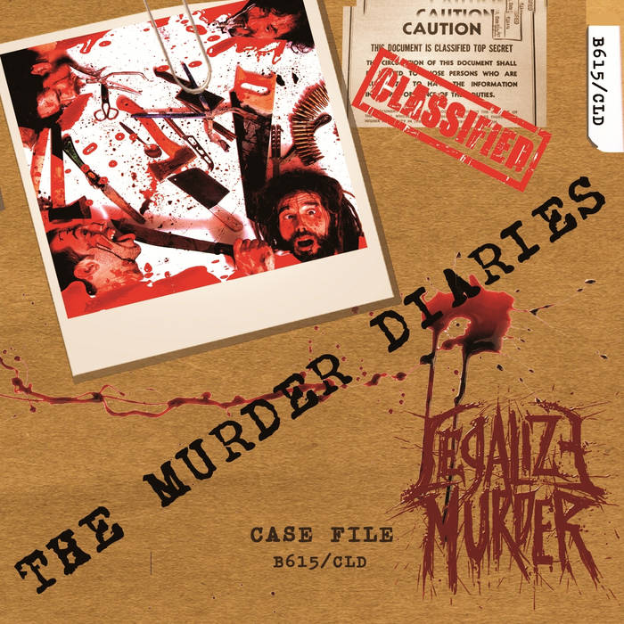 The Murder Diaries cover art