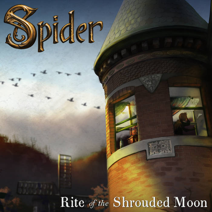 Spider: Rite of the Shrouded Moon (Day) cover art