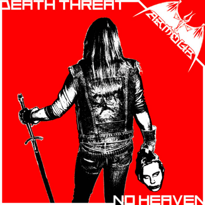 "Death Threat / No Heaven 7"" cover art"