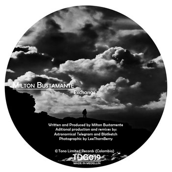 TDG019 Milton Bustamante - Exchange cover art