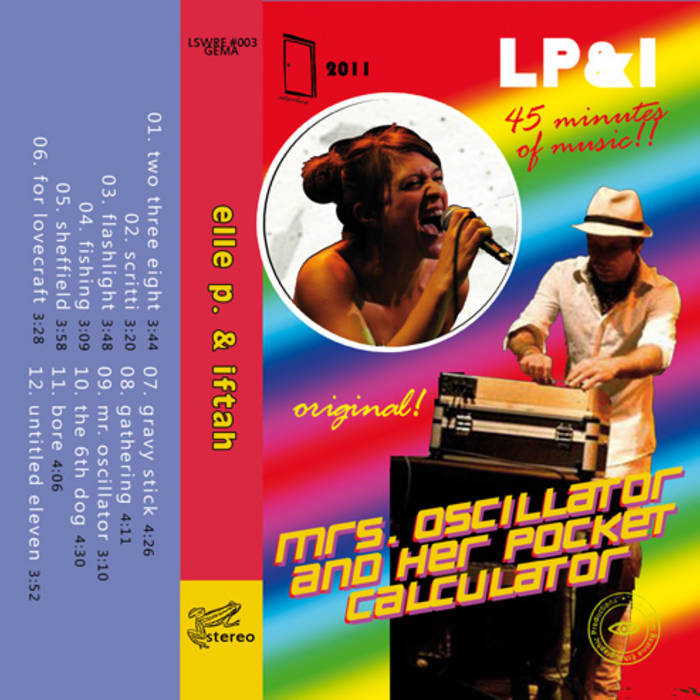 °mrs. oscillator & her pocket calculator (limited cassette edition) cover art